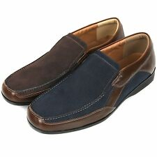 New Trend Fashion Mens Casual Dress Loafers Slip On Shoes Multi Colored Nova