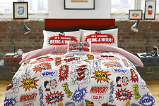 CRASH BOOM BED LINEN BY THE BEANO ..FREE & FAST SHIPPING