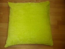 "Large Soft Ribbed Cushion Cover / Covers 24""x24""(60cm) £9.35 FREE POSTAGE"
