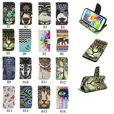 Magnetic Leather Card Holder Wallet Gel Flip Case Cover For Samsung Galaxy Phone