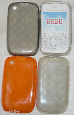 New Design Soft Silicone Cover Case Protection For Blackberry 8520