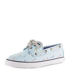 Womens Sperry Bahama Blue (Ship Gulls) Casual Flat Deck Boat Shoes Size