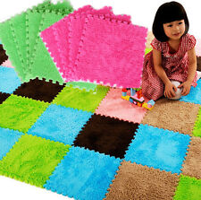 9pcs Soft EVA Foam Puzzle Floor Baby Kids Play GYM Mats Room Cushion Rugs