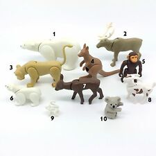 Playmobil Zoo Animals Polar Bear Rein Deer Monkey Kangaroo  (PICK & CHOOSE)
