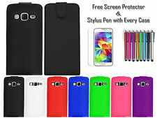Premium Leather PU Flip Wallet Case Cover Holder For Samsung Galaxy Core Prime