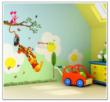 Winnie Pooh Wall Sticker Vinyl Decal Decor Removable Nursery Kids Baby Wallpaper