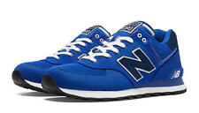 New Balance ML574POB: Pique Polo Pack 574 Casual Shoes Blue/Navy Men's Size NEW