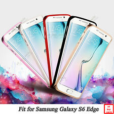 Metal Aluminum Protective Bumper Frame Cover Case for Samsung Galaxy S6 Edge