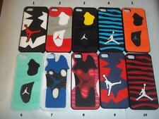 3D Jordan Sneakers Sole PVC Rubber Cover For iPhone 5 5s Jump man Phone Case