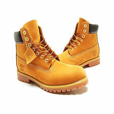 Timberland Men's Boot 6 Inch Premium 10061 Wheat Nubuck
