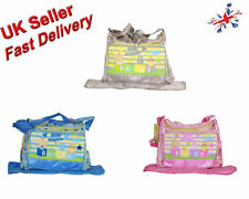 Baby Kingdom Cartoon Design & Flower Print Nappy Diaper Changing Bags Set