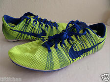 Nike Zoom Victory 2 Unisex Running Track Spikes Green Volt Blue 555365 704