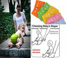 Kids Infant Reusable Washable Baby Cloth Diapers Nappy Cover Adjustable CEUS