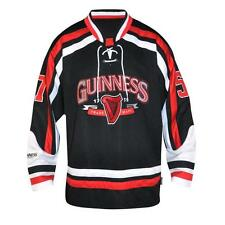 GUINNESS Red and White Hockey Jersey