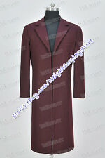 Who Is Doctor Cosplay The 11th Eleventh Dr Matt Smith Costume Coat Halloween