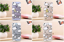Thin Cute Cloud Day Night Soft TPU Back Case Cover For iPhone 5 5S / 6 / 6 Plus
