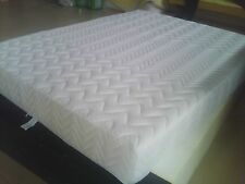 "New ZIPPER WOOL QUILTED BAMBOO COVER FOR 6"" MEMORY FOAM LATEX MATTRESS"