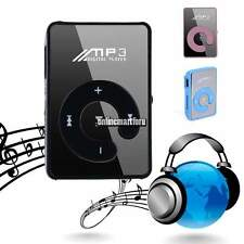 New Support Up To 8GB Mini Clip USB Mirror MP3 Player Micro SD TF Memory Card  O