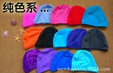 SH CA Stylish Patten Sporty Polyester Water Sport Pool Swimming Bathing Cap Hat