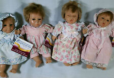 """Berenguer Baby Dolls Expressions Life Like Facial Features 9"""" tall Collect All"""