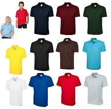 Unisex Kids Boys/Girls  Polo T-Shirt Shirt Tops Children Age 3-14 Years Summer