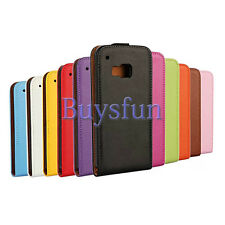 Stylish Vertical Flip Leather Cover Case For HTC One M9