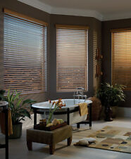 """Custom Made To Fit Rich Oak Stained 2"""" Wood Blind - FREE SHIPPING!!!"""