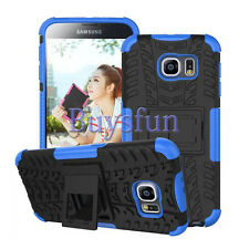 Dual Layer Hybrid Rugged Hard Case Cover For Samsung Galaxy S6 GS6