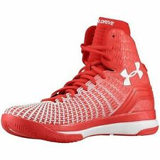 Under Armour Clutchfit Drive Mens Red Basketball Shoes Stephen Curry 1246931 NIB
