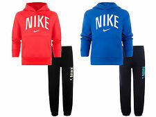 New Boys Nike Sport Log Print Sweat Hoody Jog Pant  Bottom