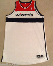 BIG AND TALL  SZ 4XL AUTHENTIC WASHINGTON WIZARDS JERSEY BLANK NO NAME OR NUMBER