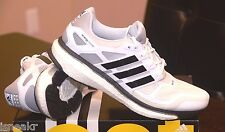 ADIDAS ENERGY BOOST 2.0 WHITE BLACK MENS RUNNING SHOES -D D73878