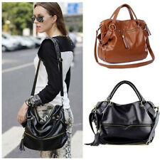 New Cool Lady Handbag Shoulder Bag Tote Purse  PU Leather Women Messenger  Hobo