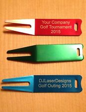 Qty 50 - Personalized Anodized Aluminum Golf Divot - Engraved