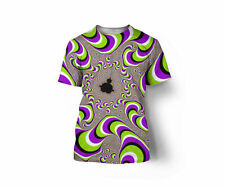 Trippy Fractal moving T-shirt Full Color Printed!