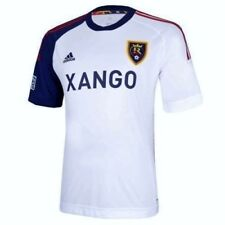 NEW Mens Sz S 2XL ADIDAS MLS Real Salt Lake Replica White Away Soccer Jersey