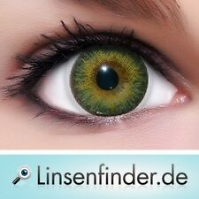 """Lenzera 3Tones Contact Lenses """"Green"""" Colored Contacts + Free Case"""