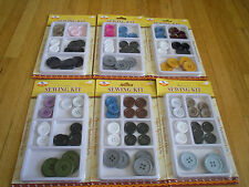 25pcs Super Quality Sewing Kit Assorted Colors sharpes Szies buttons Black White