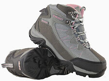 Girls Kids Hi Tec Waterproof Walking Hiking Ankle Lace Up Boots Shoe Size 11-5