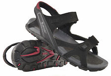 Mens Hi-Tec Summer Beach Walking Trail Velcro Strap Sandals Shoes Size 7-13