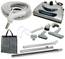 30' or 35' Central Vacuum Kit w/Hose, Power Head & Tools Beam Nutone Kenmore