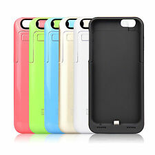iPhone 5/5S/5C Power Bank Battery Charger Case External Backup Pack Dock Cover