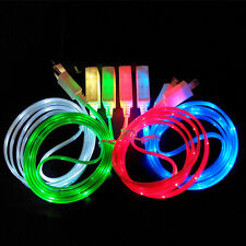 Creative LED Light Micro USB Data Sync Cable for Samsung Galaxy Charger Android