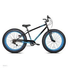 "26"" Kent Men's Devastator Fat Tire Mountain Bike 7 Speed Bicycle Bad Boy Big NEW"