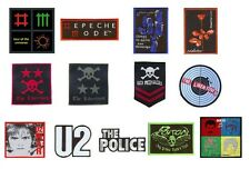 DEPECHE MODE the libertines U2 the police POISON queen - SEW-ON WOVEN PATCH