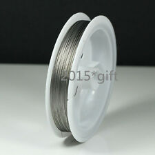 0.3mm,0.35mm,0.38mm,0.45mm Steel Tiger Tail Beading Wire Thread