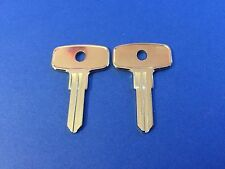 2 Snap-On Toolbox Lock Keys Code Cut Y51 thru Y100 Snap On Toolbox Locks Key