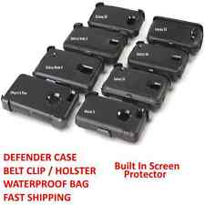 Defender Hard Case Belt Clip Samsung Galaxy Note 4 3 S3 S4 S5 S6 iPhone 6 Plus/6