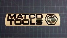"""MATCO STICKER For Tool Box Or Cart 3""""x12.7"""" Available White and Black colors"""