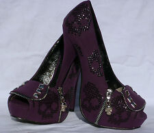 IRON FIST RUFF RIDER PLATFORM  SHOES UK 3 8 PURPLE SALE SALE SALE SALE SALE
